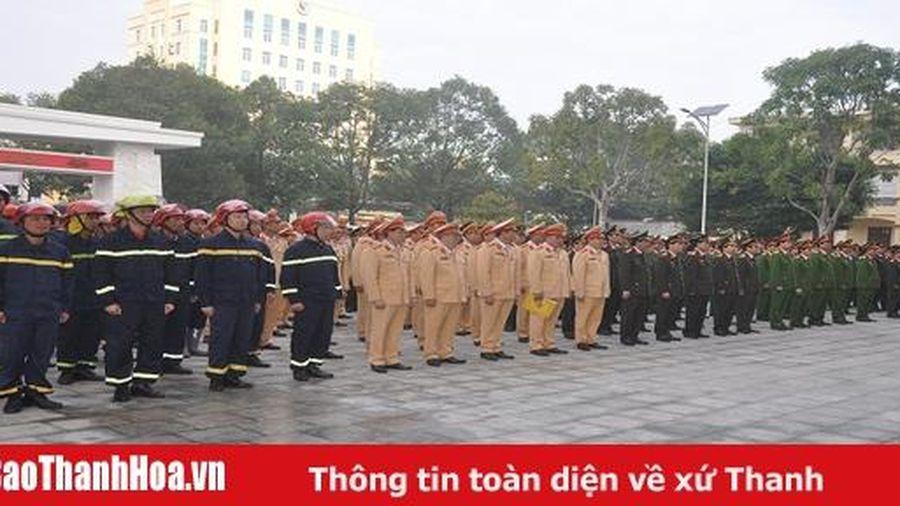 Ra quân bảo đảm an ninh trật tự Tết Nguyên đán Canh Tý 2020