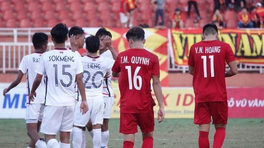 U-20 Campuchia quyết đá cho 'ra ngô, ra khoai'