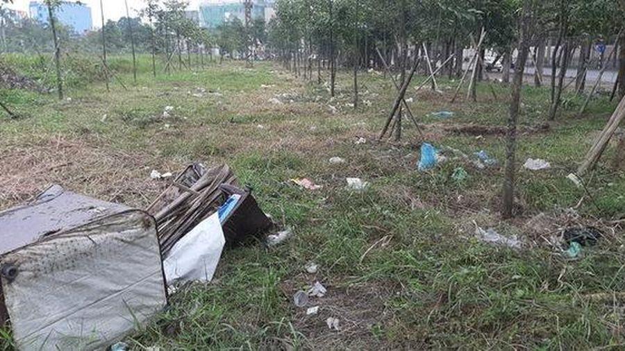 Cận cảnh khu 'đất vàng' xây dựng trụ sở hành chính 2.200 tỉ đồng bỏ hoang, cỏ dại mọc um tùm