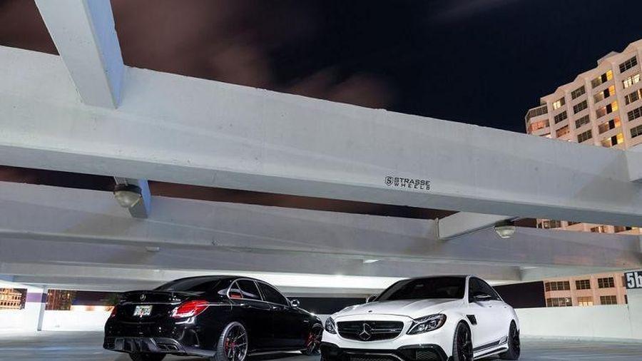 'Rụng rời' trước siêu phẩm Mercedes-AMG C63 S độ ngập tràn carbon