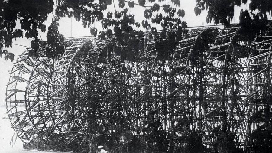 Người phục dụng 'kiệt tác' bờ xe nước sông Trà