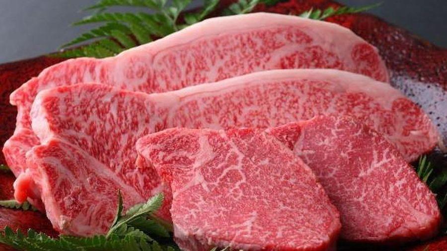 Thịt bò Kobe thượng hạng- một trong những món ăn đắt đỏ nhất hành tinh