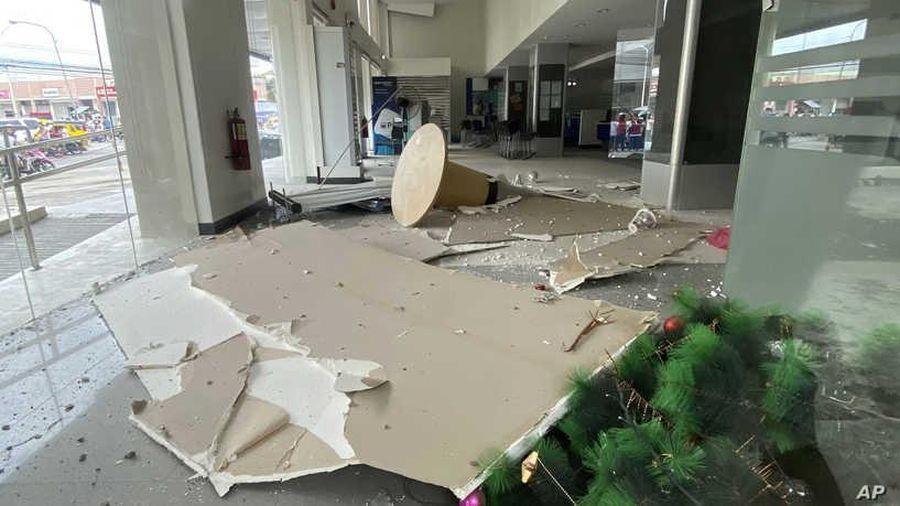 Số nạn nhân thiệt mạng trong vụ động đất tại Philippines tăng