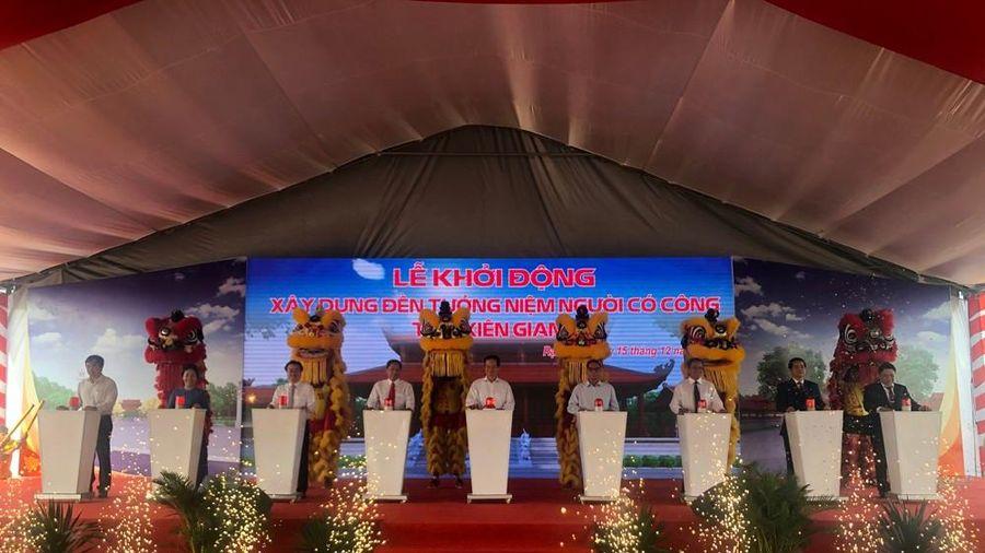 Khởi động xây dựng đền tưởng niệm người có công ở Kiên Giang