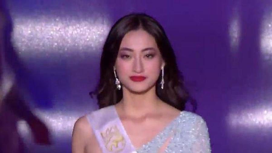 Ứng xử bằng tiếng Anh và những phần thi giúp Lương Thùy Linh lọt top 12 'Miss World 2019'