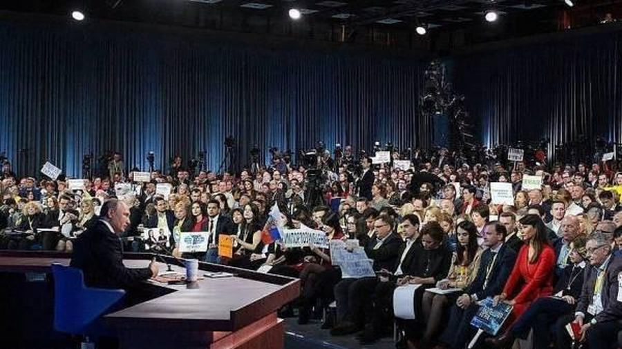 Tổng thống V.Putin tổ chức họp báo lớn lần thứ 15