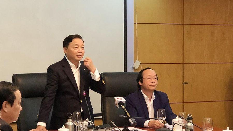 Bộ trưởng TN&MT: Ô nhiễm bụi mịn rất cấp bách, nghiêm trọng