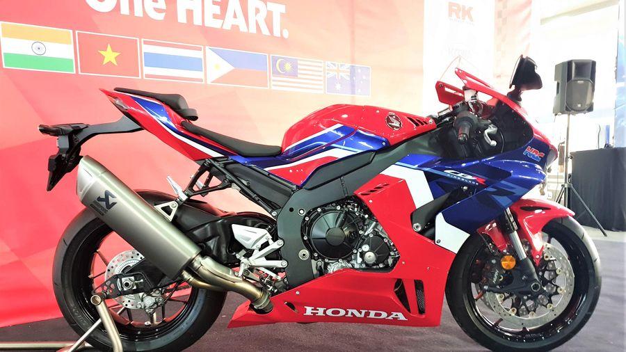 Honda CBR1000RR-R 2020 ra mắt ở Malaysia, chuẩn bị về Việt Nam