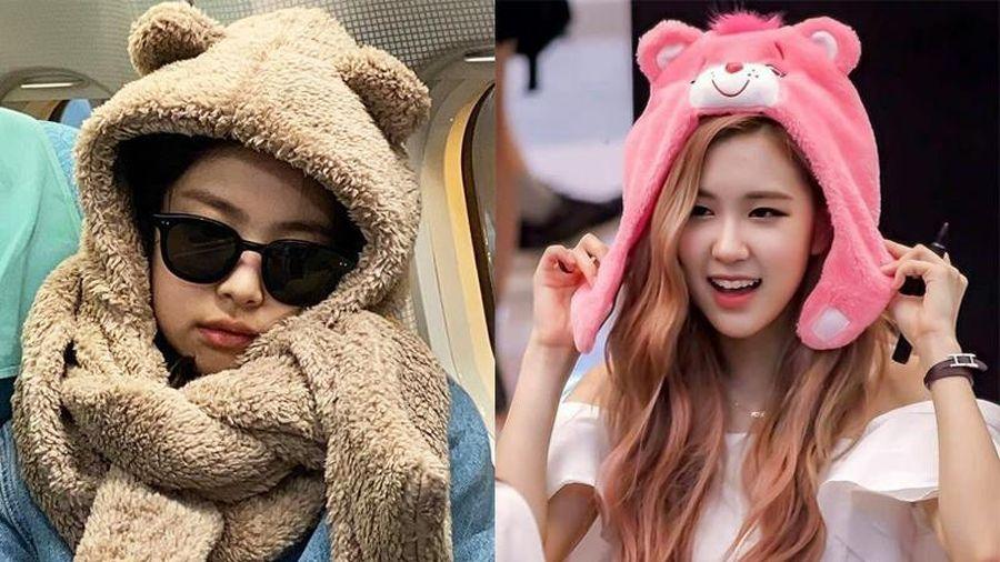 Jennie và dàn sao Hàn khiến fan thích thú khi đội mũ hình thỏ, gấu