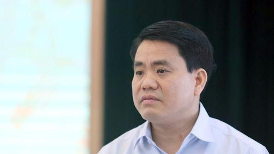 Ông Nguyễn Đức Chung nói về việc 'mất đoàn kết nội bộ, kèn cựa địa vị'