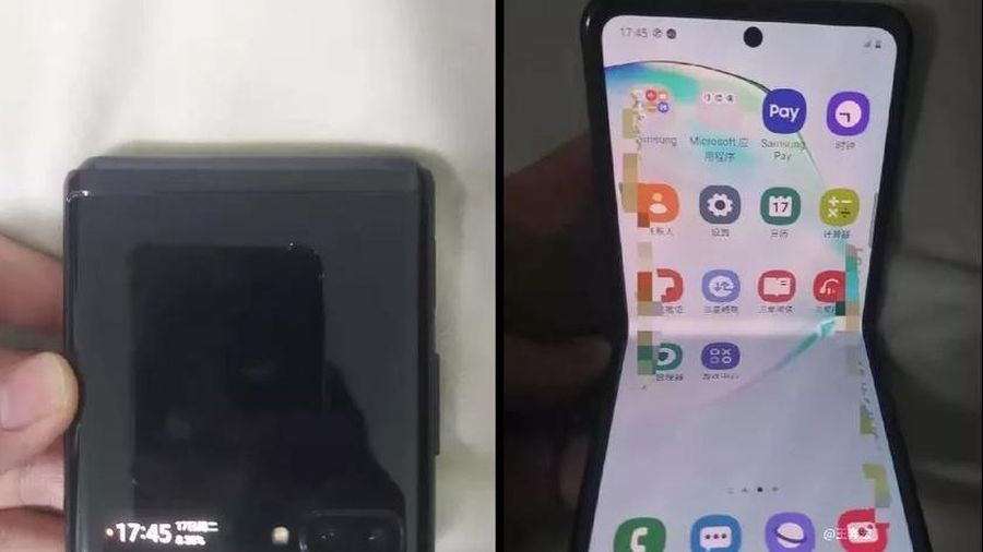 Đây là smartphone màn hình gập thứ 2 của Samsung?