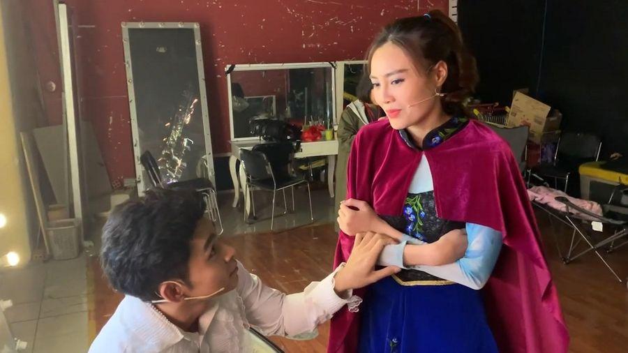 Ninh Dương Lan Ngọc xin lỗi sau vụ đăng clip Jun Phạm thay trang phục