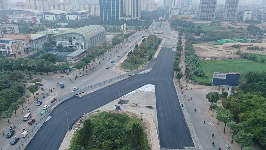 Đường đua F1 Hà Nội bắt đầu trải thảm sau 8 tháng thi công