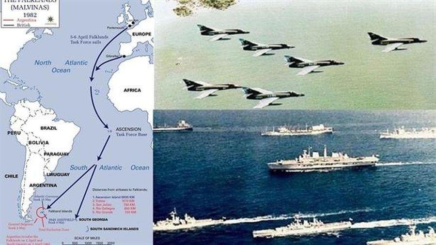 Anh suýt lâm nguy trong chiến tranh Falklands/Malvinas thế nào?
