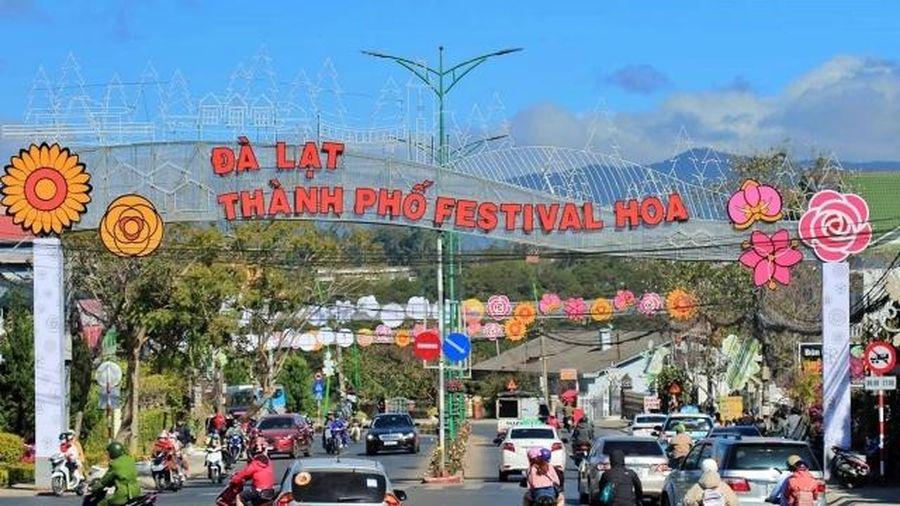 Cấm xe tải lưu thông một số tuyến đường dịp Festival hoa Đà Lạt