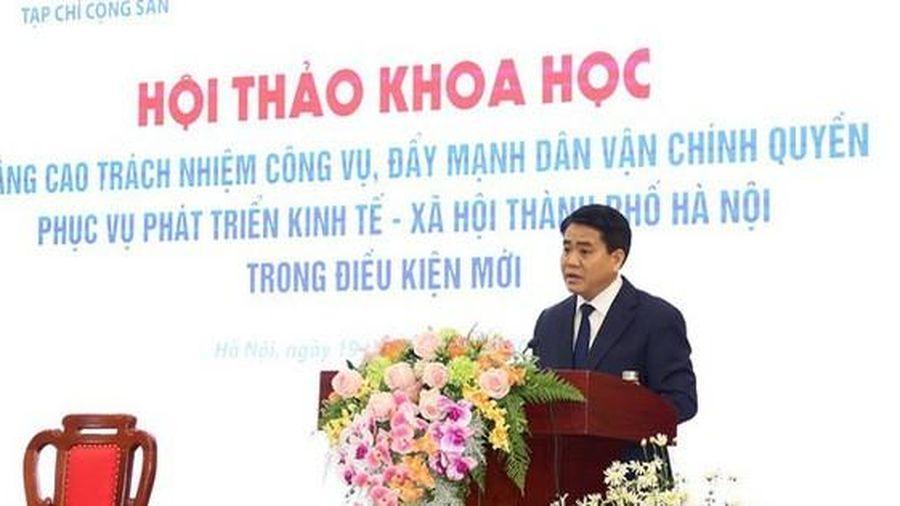 Chủ tịch Nguyễn Đức Chung: Hà Nội đã đúc rút cho mình nhiều bài học đắt giá