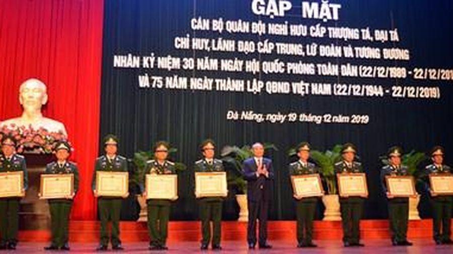 Đà Nẵng: 28 cá nhân vinh dự nhận Huân chương Bảo vệ Tổ quốc