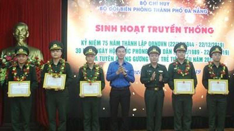 BĐBP Đà Nẵng tuyên dương 10 Gương mặt trẻ tiêu biểu năm 2019