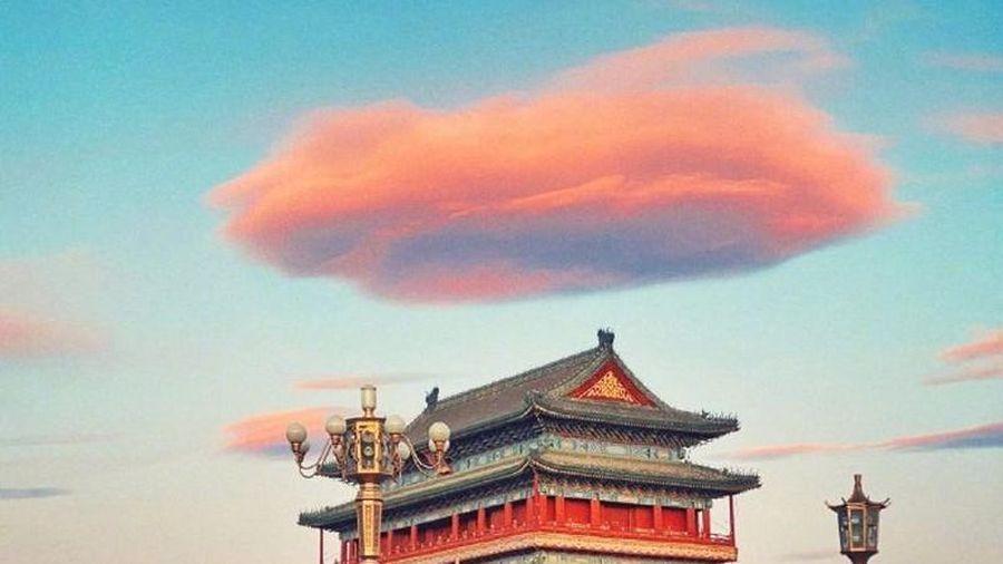 Mây như kẹo bông siêu đáng yêu xuất hiện, ai cũng mê mẩn