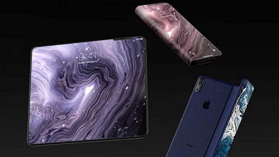 Ngắm concept iPhone Pro với màn hình gập siêu đẹp