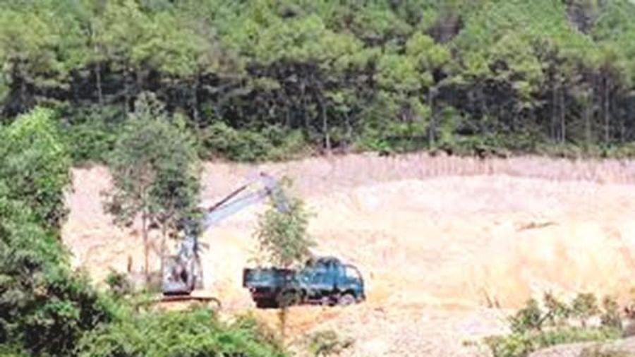 Hà Tĩnh: Điều chỉnh quy hoạch thăm dò, khai thác khoáng sản đến năm 2020