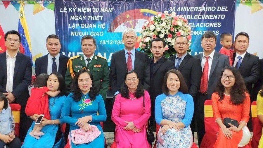 Kỷ niệm 30 năm ngày thiết lập quan hệ ngoại giao giữa Việt Nam và Venezuela
