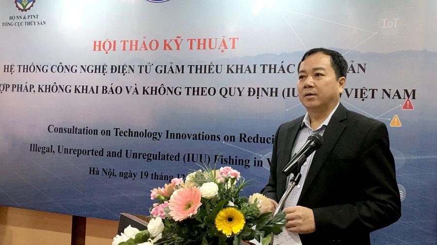 Ứng dụng công nghệ điện tử để giảm thiểu khai thác IUU