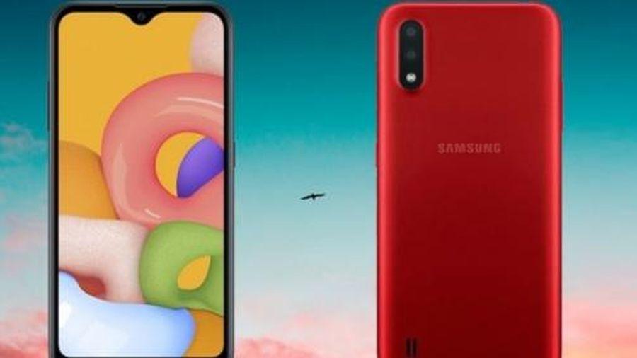 Samsung ra mắt Galaxy A01 giá rẻ, chất lượng khá