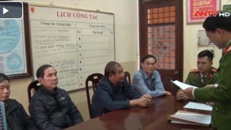 Nam Định bắt 4 cựu cán bộ để điều tra về sai phạm đất đai