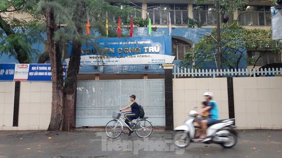Phê bình lãnh đạo trường THPT Nguyễn Công Trứ vụ giáo viên bị tố sửa điểm