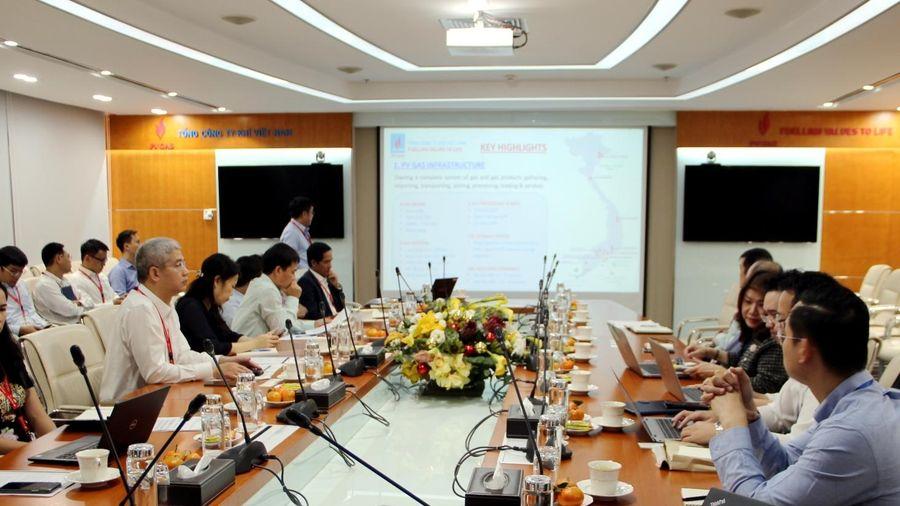 Đoàn công tác của PTT Thái Lan thăm và làm việc tại PV GAS