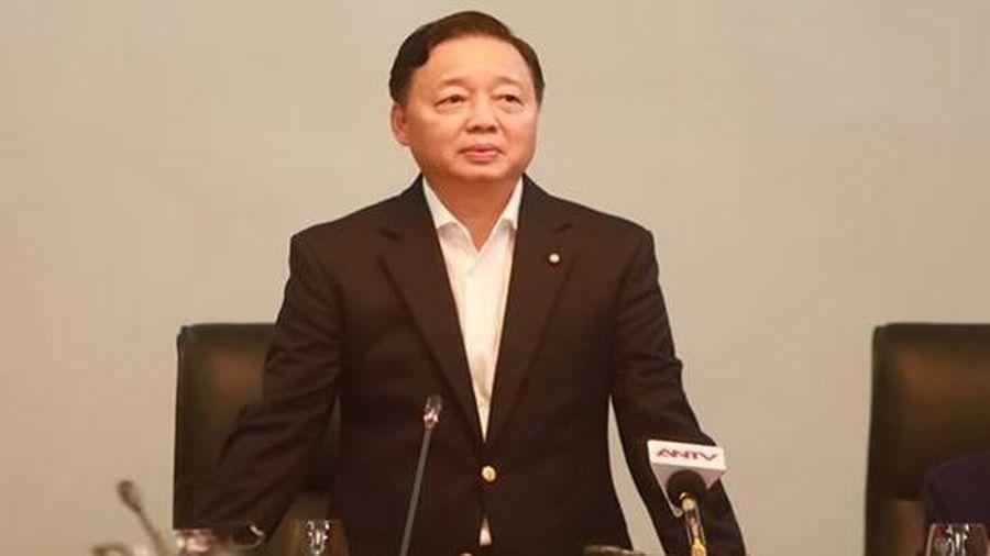Bộ trưởng Trần Hồng Hà: Ô nhiễm không khí là do con người