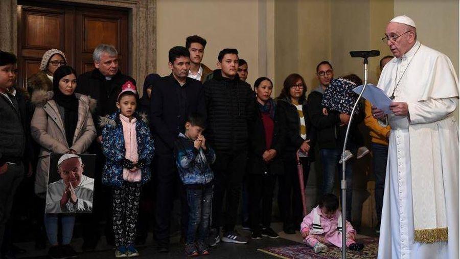 Giáo hoàng lên án tình trạng 'tra tấn, nô lệ' trong các trại tị nạn Libya