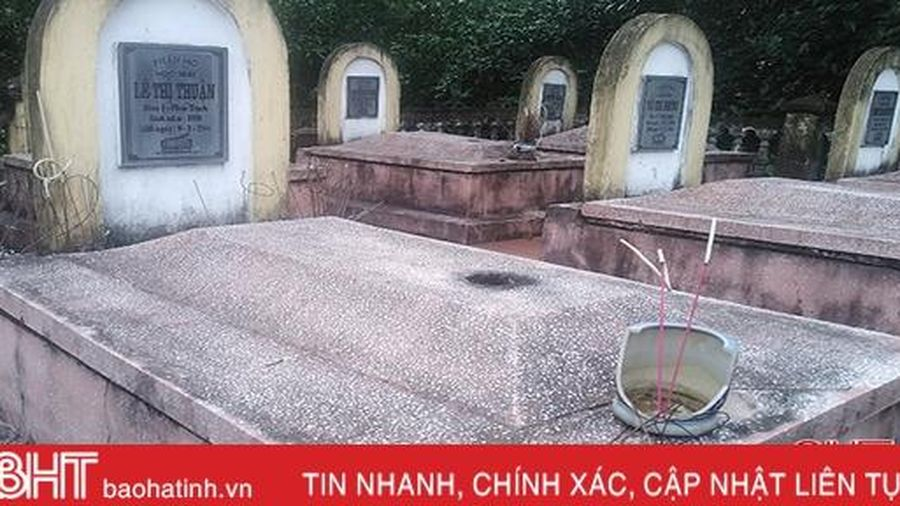 Cảnh tượng buồn ở Di tích lịch sử quốc gia Trường Cấp 2 Hương Phúc