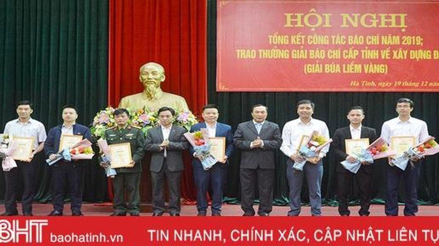 Hà Tĩnh trao giải Búa liềm vàng cấp tỉnh cho 26 tác phẩm xuất sắc