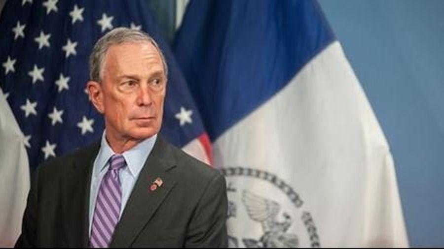Ông Mike Bloomberg tranh cử Tổng thống năm 2020