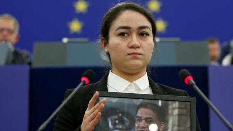 Nhà hoạt động người Duy Ngô Nhĩ được EU trao giải nhân quyền