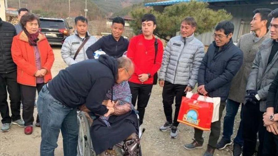 HLV Park Hang-seo mời cả đội U.23 Việt Nam cùng về thăm nhà và mẹ già ở Hàn Quốc
