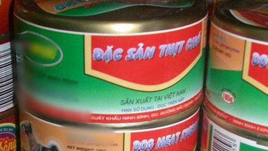 Hình ảnh thịt chó đóng hộp sản xuất tại Ninh Bình gây xôn xao, người phản ứng gay gắt, người cho biết ảnh đã cũ hơn 1 năm