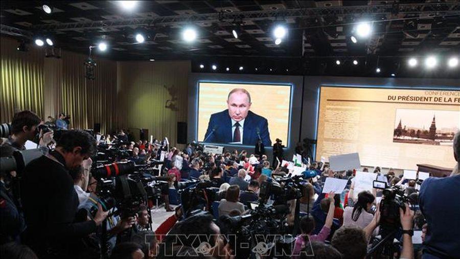 Ông Putin đặt nghi vấn về nguyên nhân biến đổi khí hậu toàn cầu