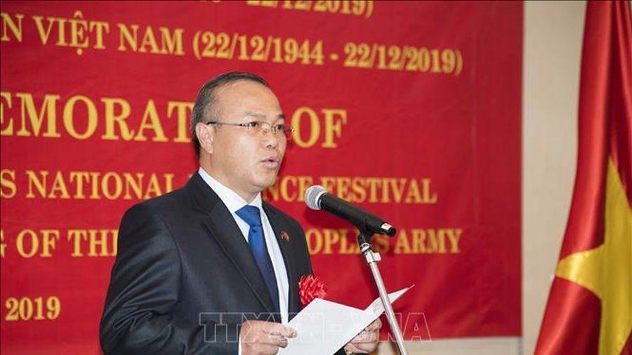 Thúc đẩy quan hệ quốc phòng Việt Nam - Nhật Bản phát triển hơn nữa