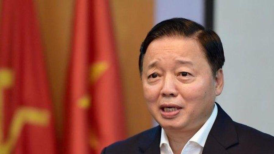 Bộ trưởng Trần Hồng Hà: 'Thực hiện biện pháp chống ô nhiễm không khí ngay ngày mai'