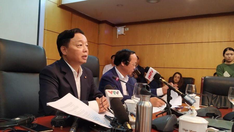 Bộ trưởng Bộ TN&MT chủ trì họp khẩn để tìm giải pháp về ô nhiễm không khí