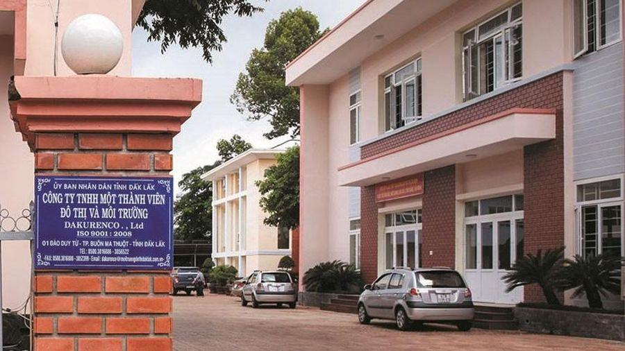 Đấu thầu tại Công ty Đô thị và Môi trường Đắk Lắk: Tiết kiệm thấp, quản lý lỏng lẻo sau đấu thầu