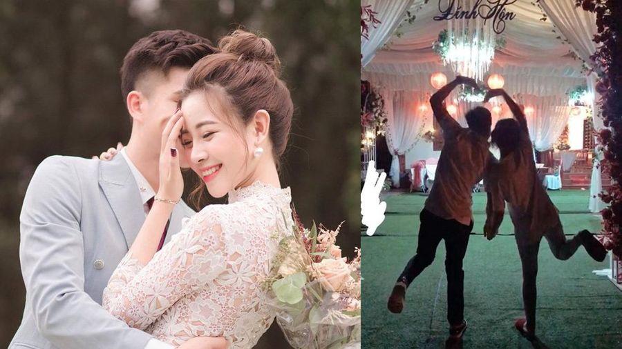 Vợ sắp cưới Phan Văn Đức 'hé lộ' không gian đám hỏi 'siêu xinh' cùng nỗi niềm trước khi về nhà chồng