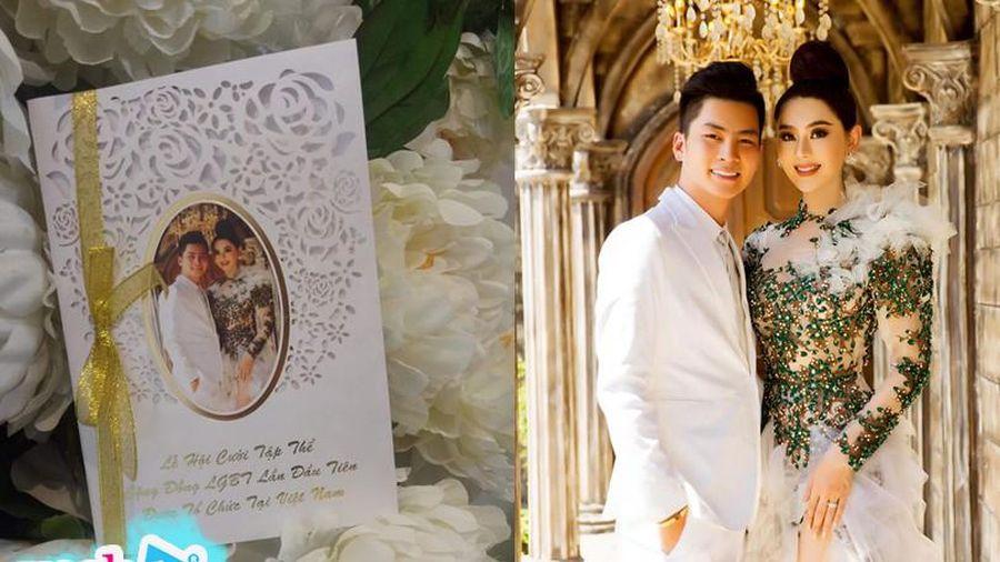 Lâm Khánh Chi tung thiệp cưới cho đám cưới tập thể của cộng đồng LGBT diễn ra đầu năm 2020