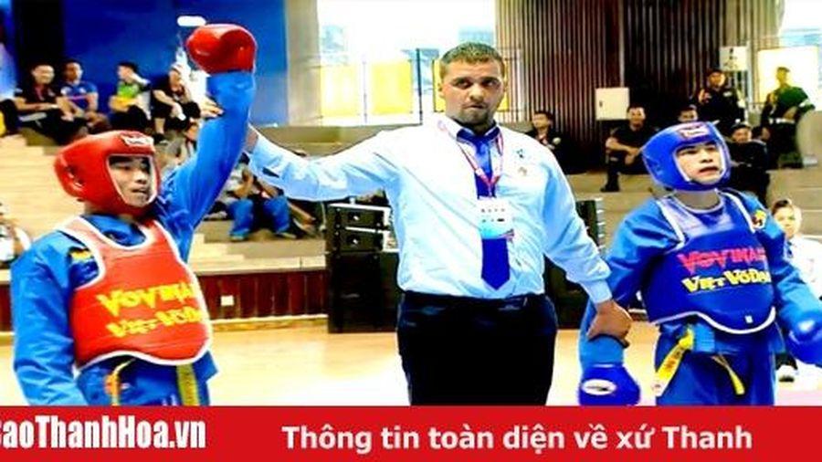 VĐV Trần Anh Tuấn lần thứ 3 giành HCV tại giải vô địch Vovinam thế giới 2019