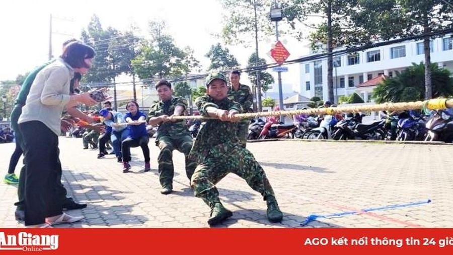 Thành đoàn Châu Đốc tổ chức Hội thao kỷ niệm ngày 22-12