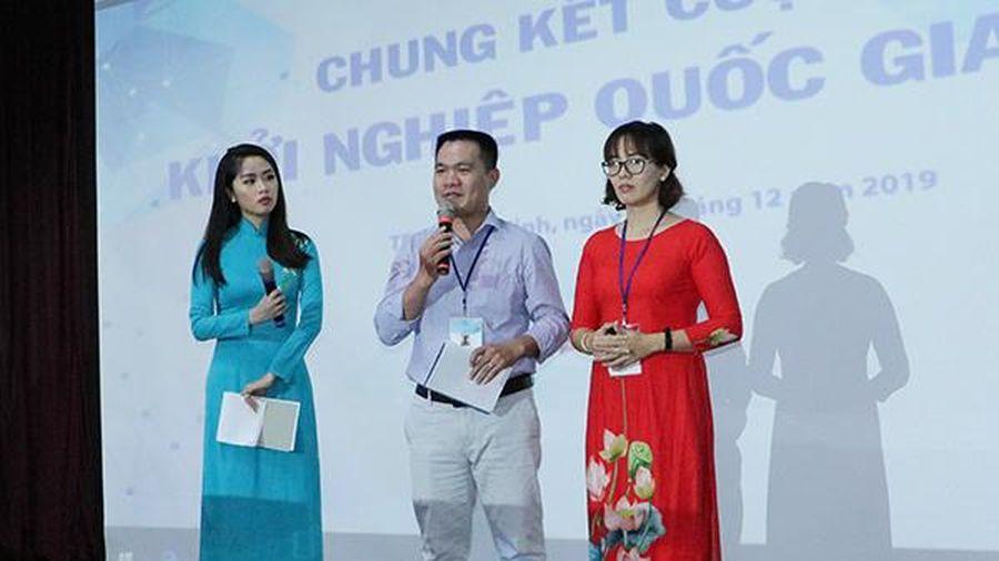 6 dự án tranh tài tại Chung kết cuộc thi Khởi nghiệp quốc gia 2019