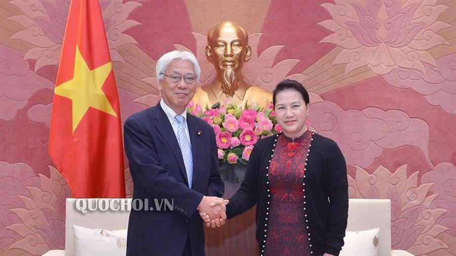 Chủ tịch Quốc hội Nguyễn Thị Kim Ngân tiếp Phó Chủ tịch Thượng viện Nhật Bản Ogawa Toshio